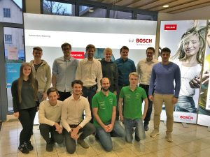 Bosch Workshop am 20.11.2017